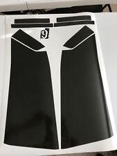 2008-2013 CTS SEDAN vinyl smoked overlay kit tint tail light cover 10 piece kit