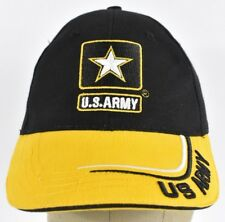 Black United States Army Strong Logo Embroidered Baseball hat cap Adjustable