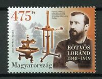 Hungary 2019 MNH Baron Lorand von Eotvos 1v Set Physics Science People Stamps