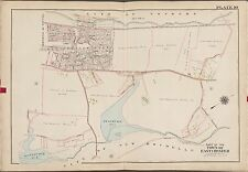 1910 G.W. Bromley Eastchester New Rochelle N.Y. Mt. Hope Cemetery Copy Atlas Map