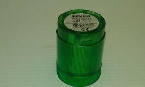 SIEMENS 8WD4220-5AC GREEN LIGHT ELEMENT 24VAC/DC 30MA 50MM DIA. MOUNTING BAYONET