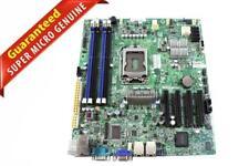 Super Micro X9SCM-F, LGA 1155, Intel C204, Micro ATX Server Motherboard