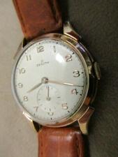 Zenith Herrenuhr--1954--Gold--Frisch überholt--Handaufzug--aus Sammlernachlass !