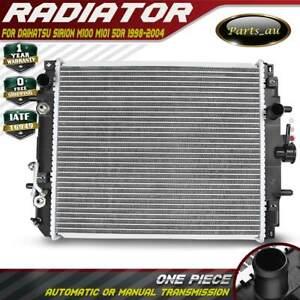 Radiator for Daihatsu Sirion M100 M101 5DR 4/1998-8/2004 1.0L 1.3L Auto/ Manual