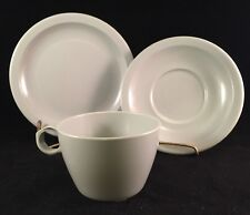 Texas Ware Cup Saucer Bread Plate Grey Lot Plastic Manufacturing Co Camping