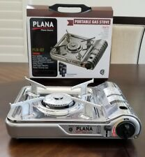 PLANA Portable Single Burner Butane Gas Camping Stove w/ Hard Case CSA Listed