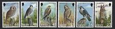 JERSEY 2001 BIRDS OF PREY SET OF 6 UNMOUNTED MINT, MNH