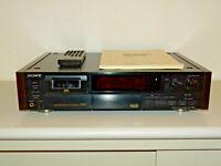 Sony DTC-59ES High-End DAT-Recorder in Schwarz inkl. FB&BDA, 2 Jahre Garantie