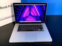 MacBook Pro 15 inch Pre-Retina Apple Laptop | 2.5GHZ | 500GB | 3 Year Warranty