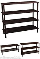 Wooden Shoe Rack Stand Standing Cabinet Storage Hallway Organiser Shelf Holder