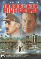 BRIDGE on the RIVER KWAI William HOLDEN Alec GUINNESS Classic War DVD NEW Reg 4