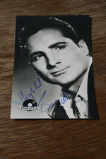 Freddy Quinn Polydor Karte , signierte Autogrammkarte,  ca 9x14cm (#A42)
