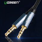 UGREEN Aux Cable jack 3.5mm Audio Cable Gold Plated For Car iPhone Tab MP3 MP4