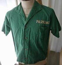 Vintage Parking Attendant US MINT Shirt 50s