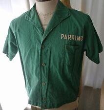 Vintage Parking Attendant Us Mint Shirt 50s