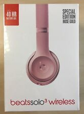 Beats by Dr. Dre Solo3 Headband Headphones - Rose Gold- Brand new and Sealed