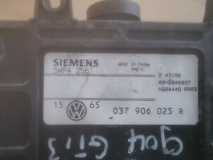 VW Golf 3 GTI Motorsteuergerät Steuergerät 037906025R 5WP4256