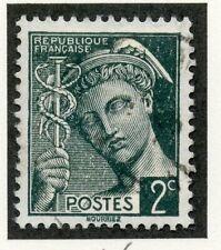 STAMP / TIMBRE DE FRANCE OBLITERE TYPE MERCURE N° 405