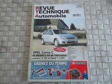 REVUE TECHNIQUE OPEL CORSA C ESSENCE 1.2 16V et DIESEL 1.3 CDTi DEPUIS 08/2003