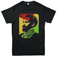 Haile Selassie T-Shirt, Througout History Emperor of Ethiopia Gift Top