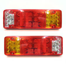 Led Rear Tail Light For Truck Lorry Mitsubishi Fuso Canter Renault Daf Man 24v