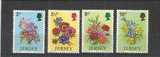 JERSEY 1974 SPRING FLOWERS SG,103-106 UM/M N/H LOT R888