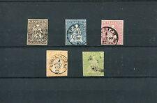 Suiza-nº 13 - 17 o-undurchsucht-kw 240,-- € (13837)