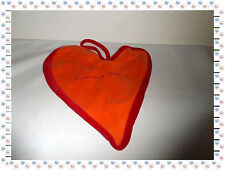 B- Kuscheltuch Flach Herz Orange Rot Agatha Ruiz De La Prada Baby