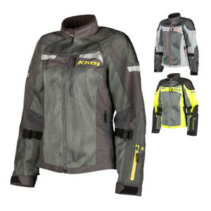 Manufacturer's Sample - Klim Women's Mesh Avalon Motorcycle Jacket w/ D3O Armor