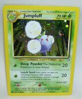 Rare Holo Pokemon Card Jumpluff  7/111 1995-2000 Nintendo