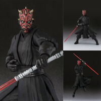"6"" S.H.Figuarts SHF STAR WARS Darth Maul Action Figure Toy Collection Gift"