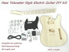 HSTL 19100 Complete No-Soldering Electric Guitar DIY Kit,SS Pickups,Solid Body