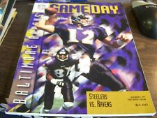 GAME DAY NOVEMBER 9TH 1997 - PITTSBURGH STEELERS VS BALTIMORE RAVENS