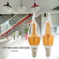 E14 LED Lamp 220V 5W 7W 30LED Corn Bulb Chandelier Modern Home Lighting JF#E