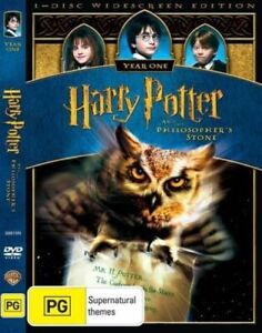 Harry Potter and the Philosopher's Stone (DVD, 2009, R4) Used Good Condition