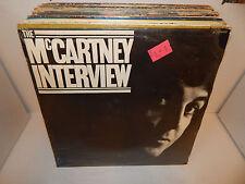 Paul McCartney THE McCARTNEY INTERVIEW Parlophone EMI France 1980 SEALED LP