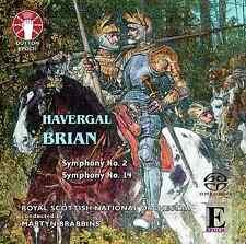 Havergal Brian: Symphonies Nos. 2 & 14  [SACD Hybrid Multi-channel] - CDLX7330