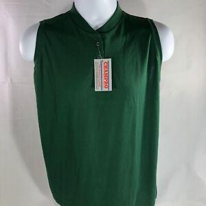 NWT Champro Sports Equipment 50/50 XL Sleeveless Green New Practice Jersey Shirt