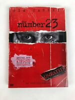The Number 23 (DVD, 2007, Unrated) Jim Carrey W Slip Cover Mint Cond.