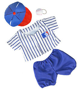 "All Stars Baseball Uniform Teddy Bear Clothes Fits Most 14"" - 18"" Build-a-bear,"