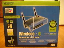 LINKSYS WRT54G V6 Wireless-G Broadband WiFi Router 2.4GHz