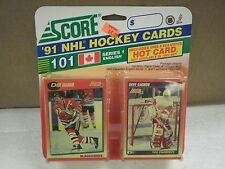 OLDER HOCKEY CARDS SCORE 1991- CANADIAN ENGLISH SERIES 1- DIRK GRAHAM- NEW- L136