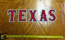 Major League Baseball MLB Jersey New Crest Patch TEXAS Rangers