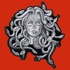 Medusa  EMBROIDERED IRON ON MC BIKER PATCH BY MILTACUSA