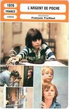 L'ARGENT DE POCHE - François Truffaut (Fiche Cinéma) 1976 - Small Change