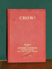 CHOW! Secrets of Chinese Cooking,Copyright/Printed in Japan 1952,Dolly ,Rare