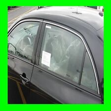 CADILLAC CHROME WINDOW TRIM MOLDING 2PC W/5YR WRNTY+FREE INTERIOR PC