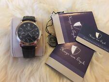 Hugo von Eyck Quartz Watch lupus Black -- Like New