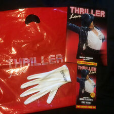 Michael Jackson Thriller Live Lyric Theatre Programme, Leaflet, White Glove, Bag