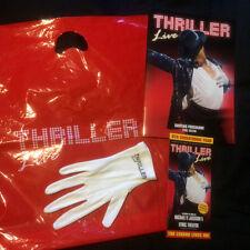 Michael Jackson Thriller Live Lyric Theatre Programme, Leaflet, White Glove, Bag